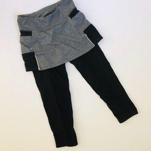 Athleta Crop Legging with Skirt | Size XS